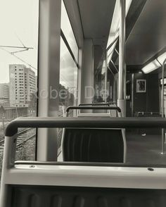 On the metro line 53 into Amsterdam. Outside on the left Penitentiary Institution Over-Amstel, better known as Bijlmerbajes. | by Robert Diel