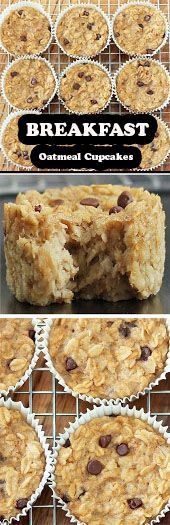 Ideas Breakfast Oatmeal Cupcakes For 2019 Best Dessert Recipes, Special Recipes, Cheesecake Recipes, Cupcake Recipes, Cookie Recipes, Easy Recipes, Desserts, Oatmeal Cupcakes, Breakfast Cupcakes