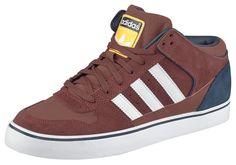Produkttyp , Sneaker, |Schuhhöhe , Knöchelhoch (high), |Farbe , Braun, |Herstellerfarbbezeichnung , FOX BROWN F14-ST/RUNNING WHITE FTW/COLLEGIATE NAVY, |Obermaterial , Leder, |Verschlussart , Schnürung, |Laufsohle , Gummi, | ...