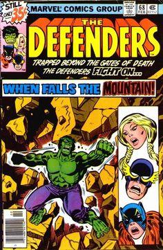 Defenders #68 by Herb Trimpe