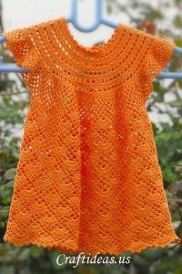 Crochet Dress - Roundup of 12 Gorgeous and FREE Crochet Dress Patterns for Girls!