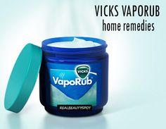 Vicks vaporub home remedies - ♥ Real Beauty Spot ♥