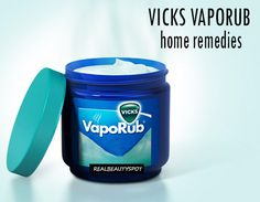 You may think that vicks vaporub is only for runny nose but you're wrong. It has many other benefits and...