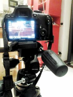 With my Manfrotto 294A3, ready to learn some photo shooting stuff!