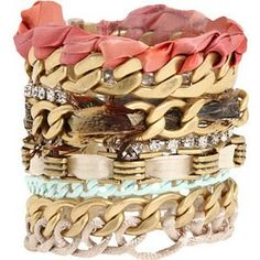 Juicy bracelet, these are really cute and would look good all together or separate
