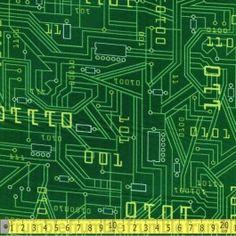 Plug And Play Circuit Board Lime FQ $3.00