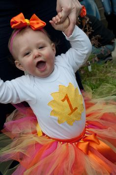 This You Are My Sunshine tutu set was made by Zobows on Etsy!