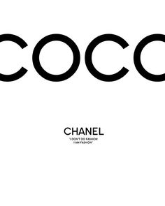 Print Coco Chanel - coco art chanel print in beautiful graphics. Quality Gallery Giclée print on natural white, matte, ultra […] Art Chanel, Chanel Wall Art, Chanel Print, Chanel Room, Coco Chanel Wallpaper, Chanel Wallpapers, Art Mural Fashion, Fashion Prints, Fashion Art