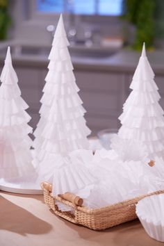 Countdown to Christmas: How to Make a Coffee-Filter Tree