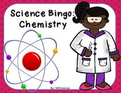 Review 24 Chemistry Vocabulary Cards with your students with this fun and engaging activity. Includes 26 random pre-made bingo sheets.