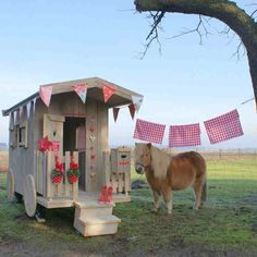 Elite Kids - Outdoor Gypsy Wagon Playhouse, £1,599.00