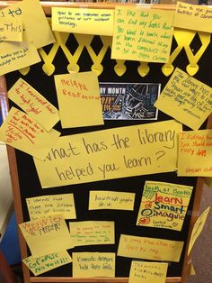 """Chelsea Sims on Twitter: """"What students have learned in the library! @IowaCitySchools #slm15 http://t.co/b9HzrQE7U8"""""""