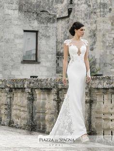 Che fascino gli abiti da #sposa di #NadiaOrlando! Scoprili tutti su http://www.piazzadispagnasposi.it/collezioni/sposa/nadia-orlando-2017/