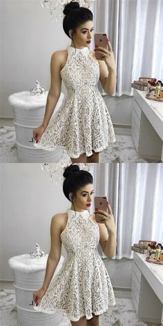 Hot Sale Enticing Champagne Homecoming Dresses, Homecoming Dresses A-Line, Lace Homecoming Dresses Dresses Short, Sweet 16 Dresses, Sweet Dress, Cute Dresses, Girls Dresses, Flower Girl Dresses, Formal Dresses, Fall Dresses, Champagne Homecoming Dresses