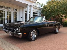 1970 Plymouth Road Runner 440+6 Air Grabber 4-Speed Power Convertible 1 Of 2