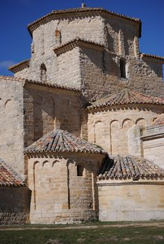 Romanesque church of Nª Sra. de la Anunciada, Urueña. Valladolid, Spain