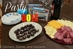 Party with #DoleBananaDippers | Dinners, Dishes, and Desserts