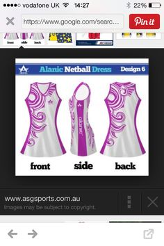 Just found these pretty netball dresses! This is my first pin so hope you like it! As you can see the web address on the picture! If you like go check it out ! Netball Pictures, Netball Dresses, Web Address, Check It Out, Sport, Sewing, Pretty, Casual, Cute