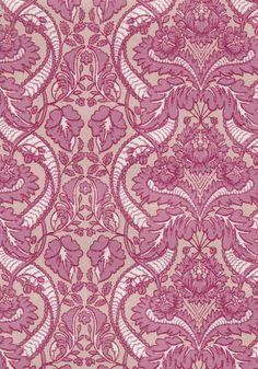 Punapaula / Tapetti / pink pattern