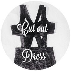 Super #sizesmall #small #cutout #CutOtDress #black #velvet #partydress #hipster  :)