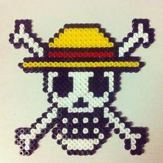 One Piece hama perler beads by cade_javi