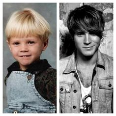 Dougie Poynter - Twitter / thennandnow. The cuteness level just exploded.
