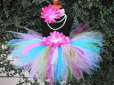 Girls Birthday Tutu and Headband Set  Tons of Fun  by TiarasTutus, $30.00