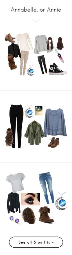"""""""Annabelle, or Annie"""" by elise-daccrone1800 ❤ liked on Polyvore featuring Paige Denim, MANGO, 7 For All Mankind, LE3NO, Converse, Gap, EAST, Chicnova Fashion, Ted Baker and RE/DONE"""