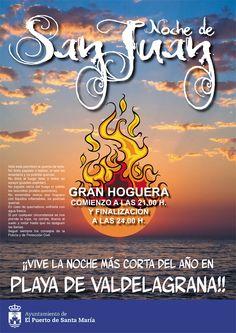 Vive la noche de San Juan en El Puerto.    Más información:  http://www.facebook.com/events/375181845878624/
