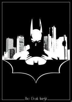 Batman Silhouette by R0mainT.deviantart.com on @deviantART