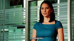 """She's delightful. 