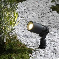 Techmar Ludeco - Alder LED Garden Spotlights - Set of 3 from Lighting Direct. Delivered direct to your door - Buy online today Pathway Lighting, Backyard Lighting, Landscape Lighting, Outdoor Lighting, Garden Spotlights, Kit S, Direct Lighting, Garden Lamps, Gardens