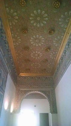 Alcázar de Sevilla, artesonado del techo