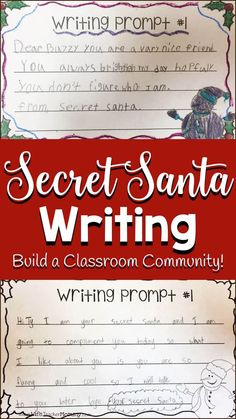 Secret Santa Writer'