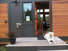 GreenPod Development and Sprout Tiny Homes teamed up to build a beautiful and modern home that has everything you could want or need. This 450-square foot house was built in Port Townsend, Washington as a model but you can have the talented design team build your own home right on your land in six weeks!