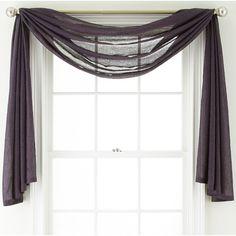 Royal Velvet 174 Ally Window Scarf Valance Window Royals