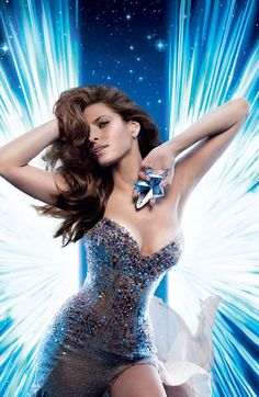 Angel By Thierry Mugler; made in France.  Notes of  bergamot, mandarin, helional, hedione, dewberry, honey, berries, patchouli, sandalwood, coumarin, vanilla, caramel, chocolate.