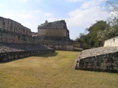 Ruinas de Ek Balam. Juego de la pelota.