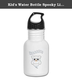 Kid's Water Bottle Spooky Little Ghost Owl. Product Number: 0001-1639346043 Perfect for school lunches or soccer games, our kid's stainless steel water bottle quenches children's thirst for individuality. Personalized for what kids love, it's both eco-friendly and compact. Made of 18/8, food-grade stainless steel. * No lining & no BPA or other toxins * Wide mouth for easy drinking * Durable, BPA-free & phalate-free screw-on top * Holds 0.35L (nearly 12 ounces) * Thin profile to fit most…