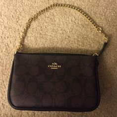 Coach wristlet Brand new never used COACH wristlet. Brand new I just lost the tag  Coach Bags Clutches & Wristlets