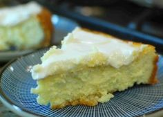 Italian Baked Cheesecake made with Mascarpone and Ricotta
