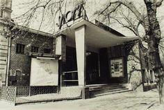 1970-es évek. Sport mozi, Cházár András utca.