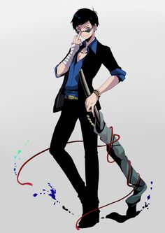 Shared by Psychopathic_Lunatic. Find images and videos about boy, anime and illustration on We Heart It - the app to get lost in what you love. Ichimatsu, Hot Anime Guys, Me Me Me Anime, Mafia, Vocaloid, Kawaii Anime, Fangirl, Character Design, Character Ideas