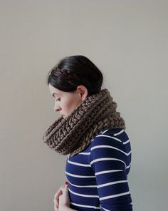 Infinity Cowl Cowl Scarf Cowl Neckwarmer  The by MadebyChloee, £34.00