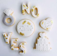 Will you be my bridesmaid cookies by alyce in cookieland