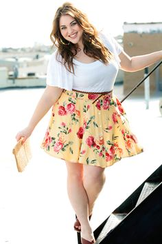 40 Curvy Women Fashion Outfits To Copy Right Now - Fashion Trends Chubby Fashion, Curvy Women Fashion, Plus Size Fashion, Womens Fashion, Look Plus Size, Curvy Plus Size, Plus Size Model, Mode Chic, Mode Style