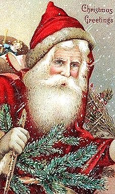 .Love all the old Santa Claus'. I never tire of looking at my Santa.