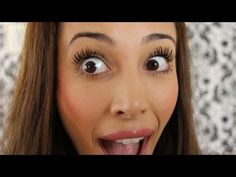 How to Apply Mascara For Longer and Fuller Lashes- By Sierra Dallas - YouTube