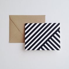 I Love Stripes Note Cards & Envelopes  Set by stationeryboutique, $25.00