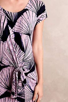 Pindo Tunic Dress in Navy/Lavender by Maeve @ Anthropologie $140 Reg.  $40 Sale